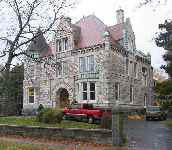 Oland house richardsonian romanesque halifax ns 1890 1890 home architecture