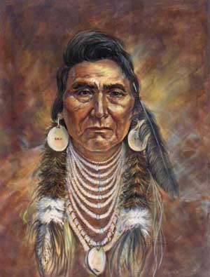 what the whites did to the indians in the reading chief joesph Chief joseph and the nez perce indians great native american leaders series what did the us government say to the white settlers about going to this area chief joseph: nez perce indians.