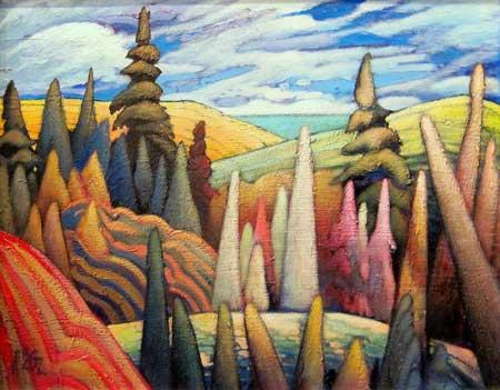 Great Canadian Artist James Edward Hergel 1961